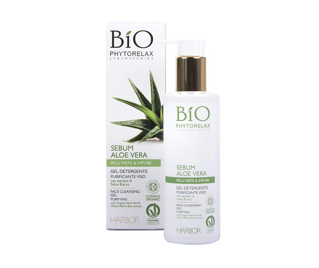 Aloe Vera Sebum Arctisztító gél zsíros bőrre 200 ml