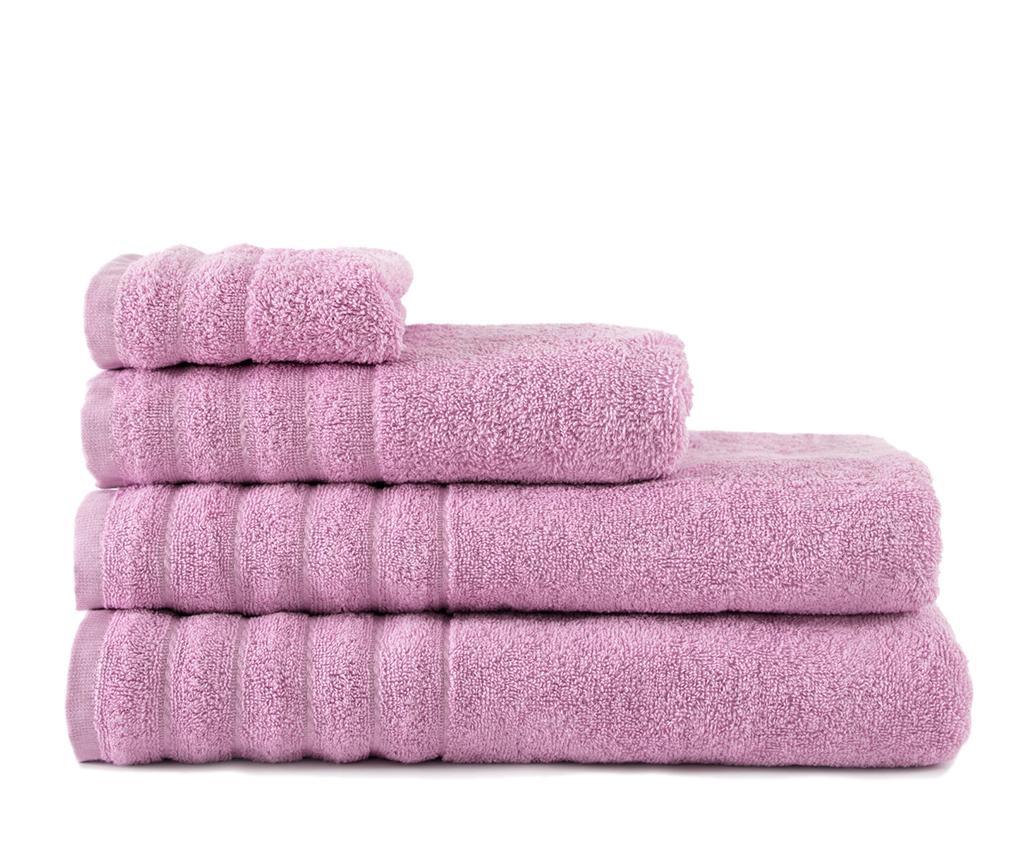 Alexa Light Pink Fürdőszobai törölköző 50x100 cm