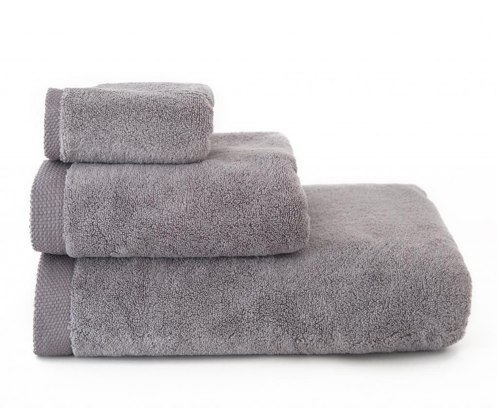 Kopalniška brisača Comfort Grey 30x50 cm