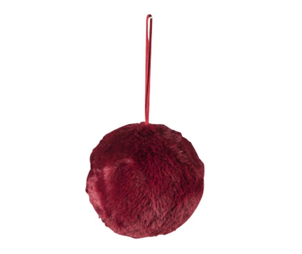 Glob decorativ Foamy Dark Cherry