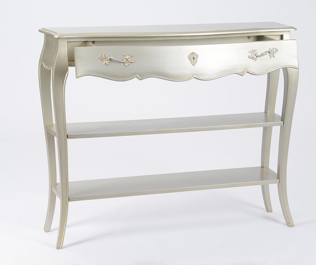 Konzola Murano Silver