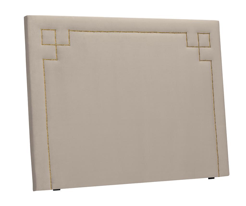 Tablie de pat Nicholas Beige Gold Pins 120x180 cm