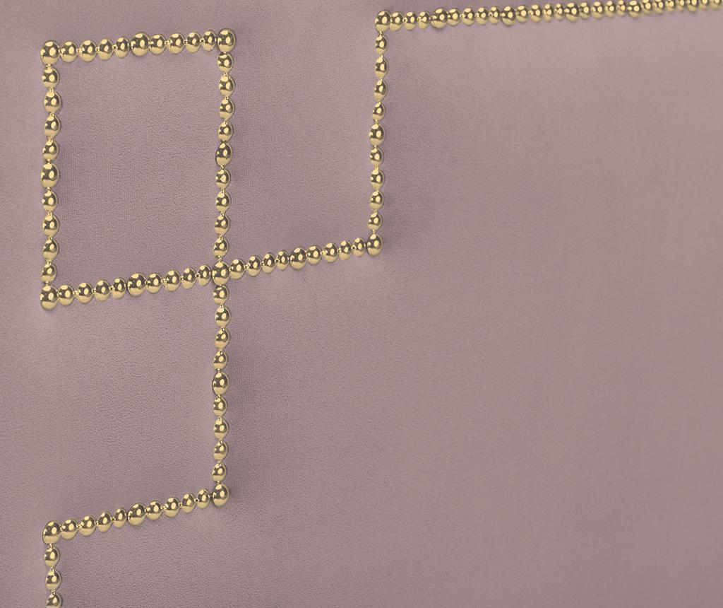 Tablie de pat Nicholas Lavander Gold Pins 120x160 cm