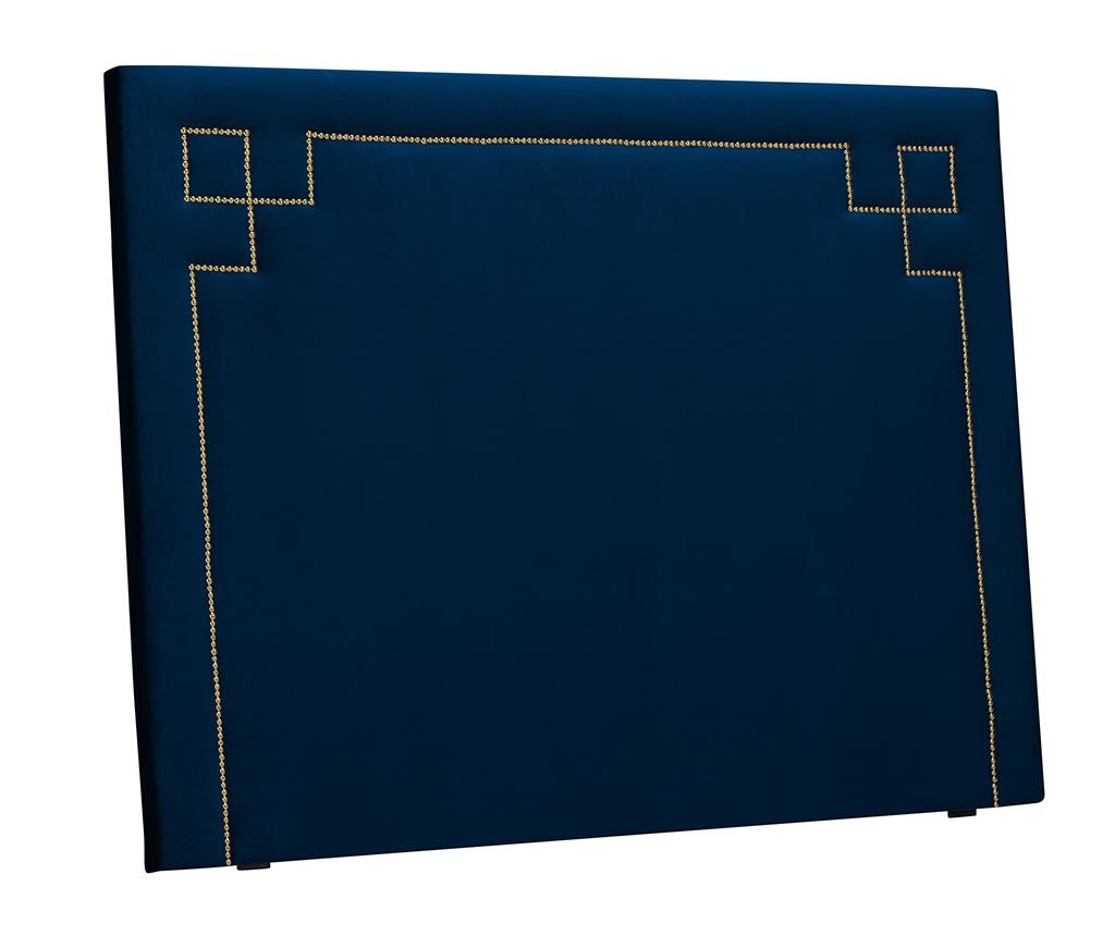 Tablie de pat Nicholas Dark Blue Gold Pins 120x160 cm