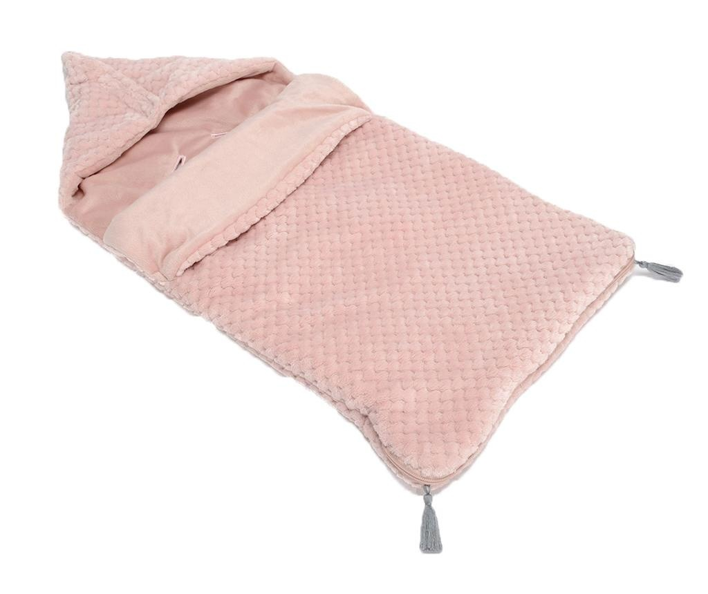 Sac de dormit pentru copii Pompons Pink 0-12 luni