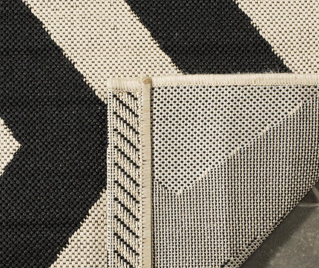 Koberec Amalfi Black Beige 120x180 cm