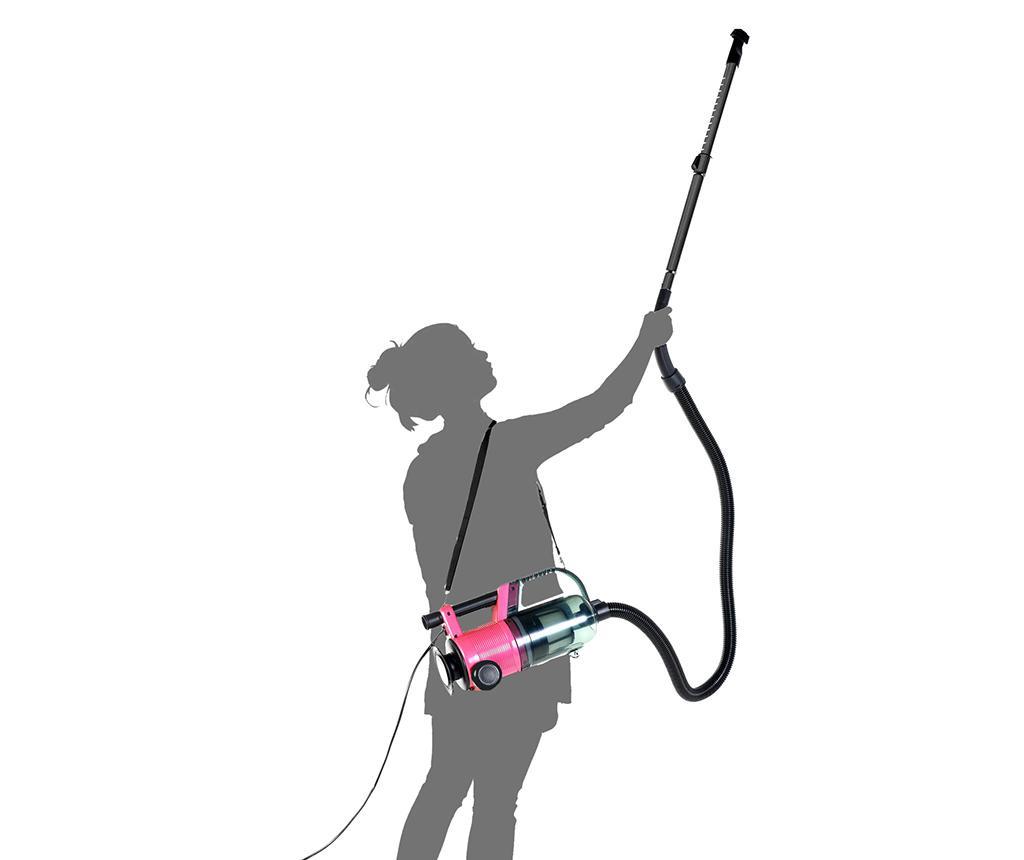 Aspirator vertical fara sac Trilite Compact Pink