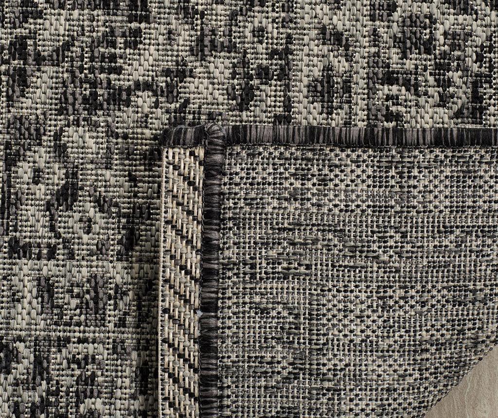 Tepih Amira Grey Black 90x150 cm