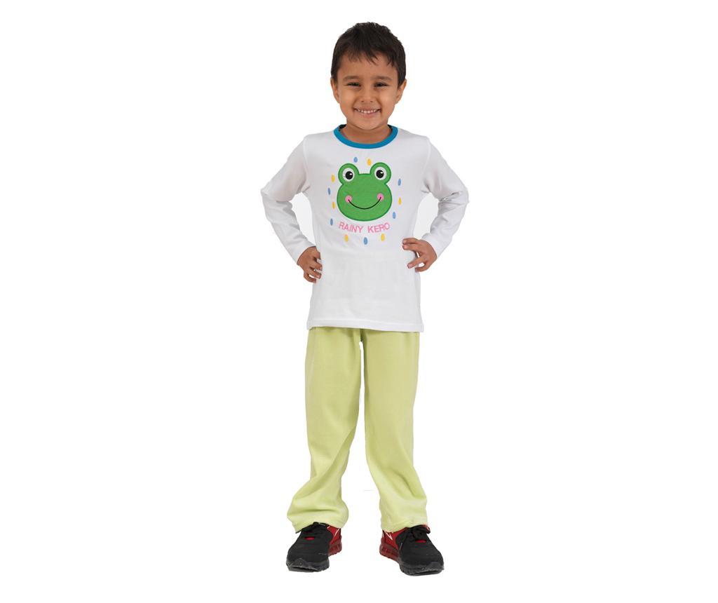 Otroški komplet - majica in hlače Rain Kero Green 4 let