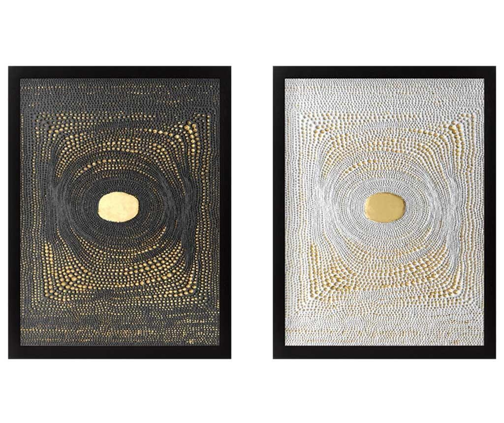 Center Golden 2 db Kép 34x44 cm