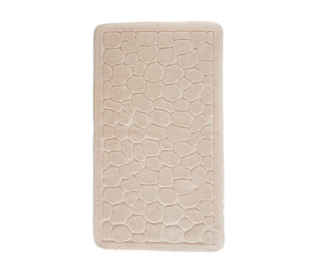 Stone Powder Pink Fürdőszobai szőnyeg 70x120 cm