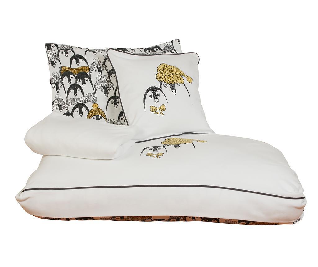 Otroška posteljnina Sateen Supreme Pingu White