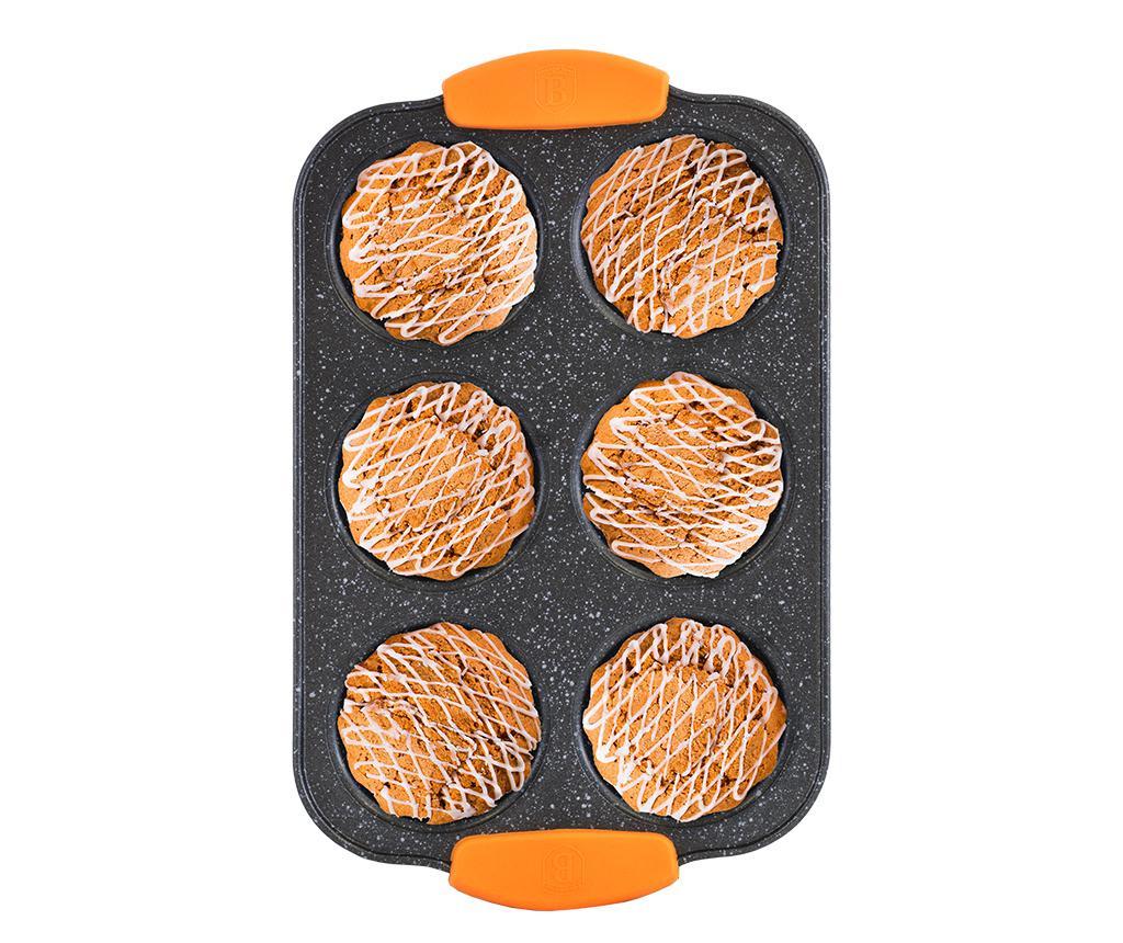 Posuda za pečenje za 6 muffina Granit Diamond