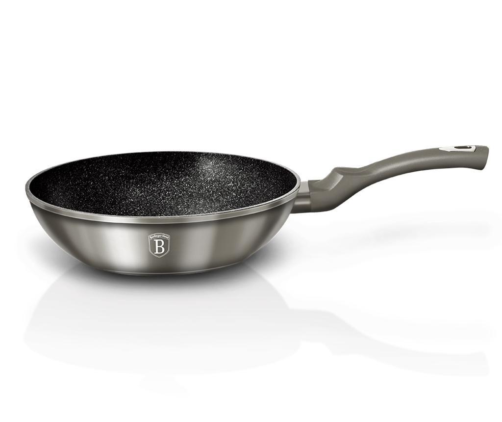 Tigaie Wok Metallic Carbon 28 cm
