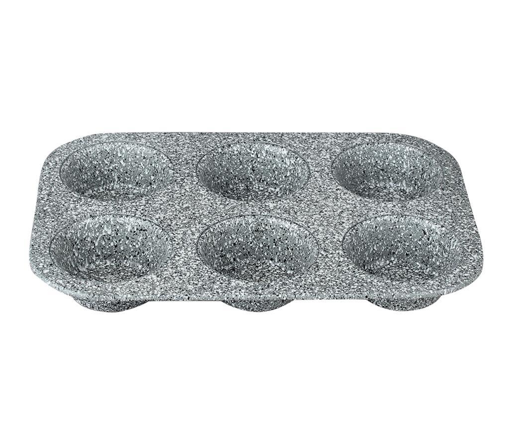 Ταψί ψησίματος για 6 muffins Heart