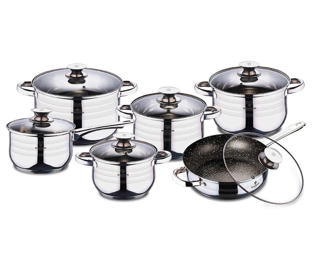 Set vase pentru gatit 12 piese Gourmet