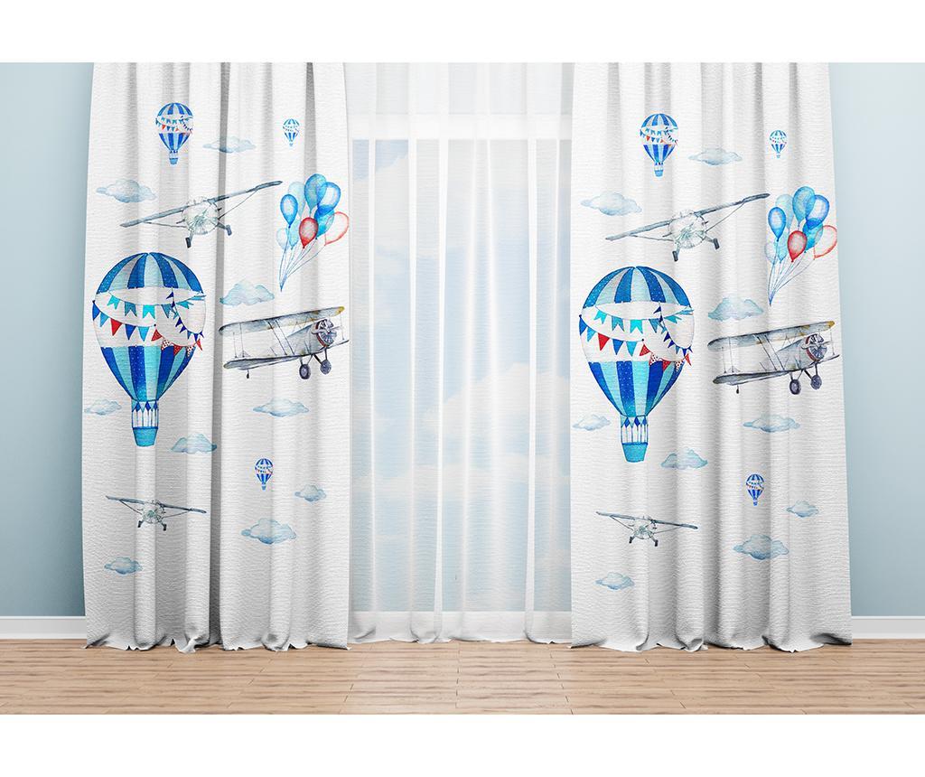 Set 2 draperii Sally 140x240 cm