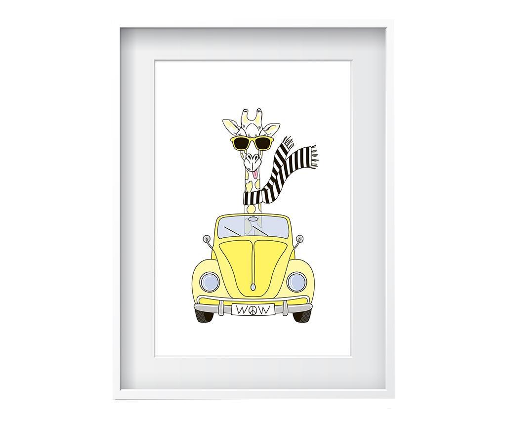 Slika Giraffe 24x29 cm