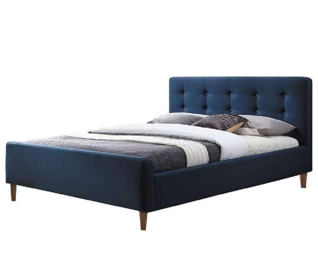 Posteľ Bevan Blue 160x200 cm