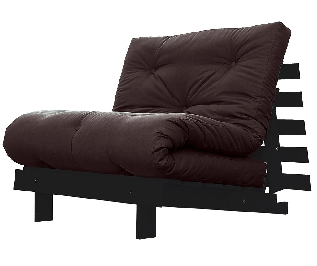 Sofa extensibila Roots Wenge and Brown