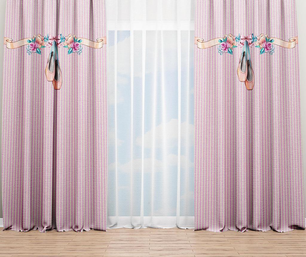 Draperie Ballerina Pink 140x240 cm