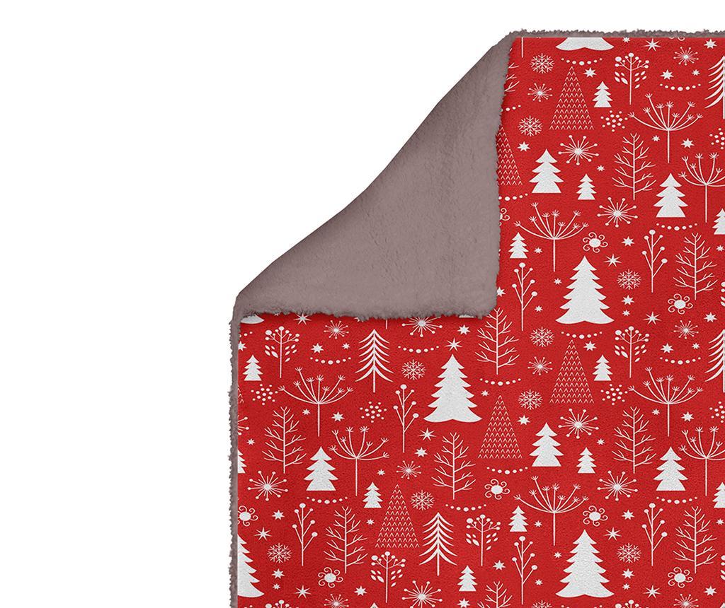 Patura Christmas Trees 160x220 cm