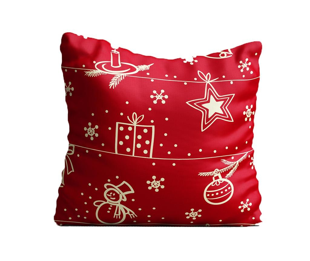 Perna decorativa Feeling Festive 43x43 cm