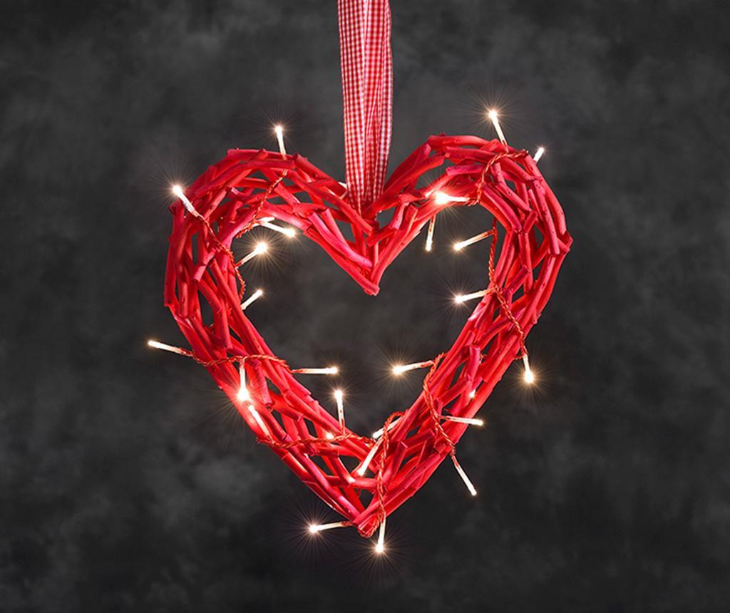 Závěsná světelná dekorace Andrar Red