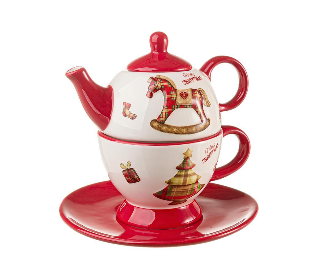 Set ceainic cu ceasca si farfurioara Craft