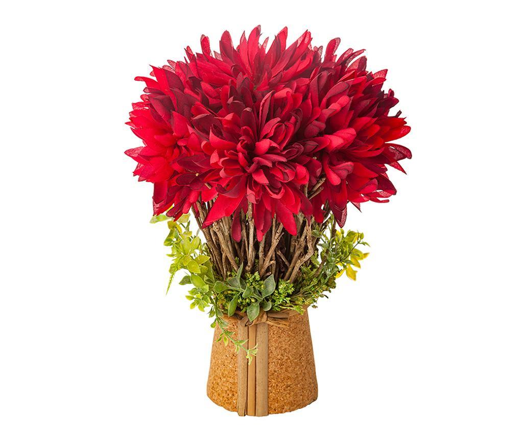 Ghiveci cu flori artificiale Valeria