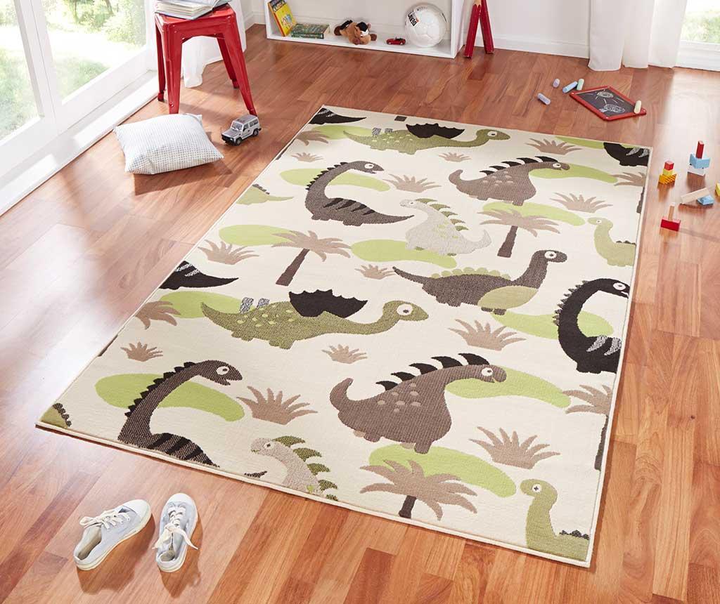 Preproga Dinosaur Beige Green 140x200 cm