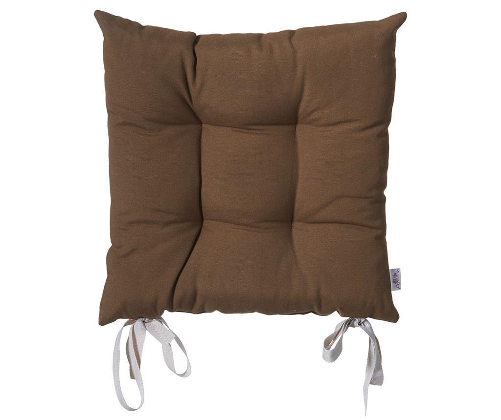 Jastuk za sjedalo Anna Brown 37x37 cm