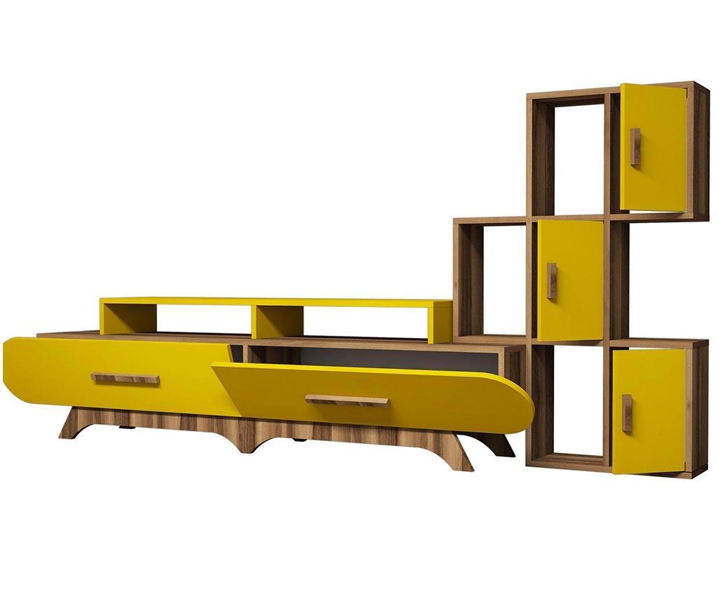 Millicent Yellow Nappali bútorgarnitúra