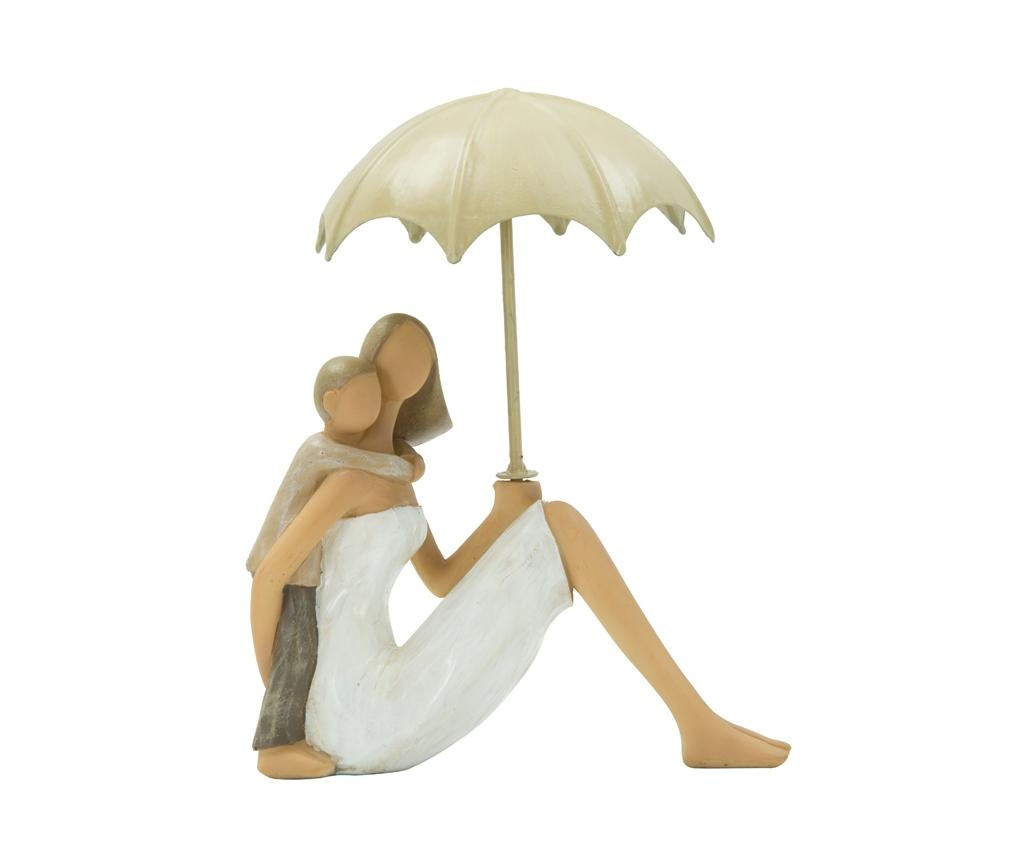 Decoratiune Woman Sitting with Umbrella