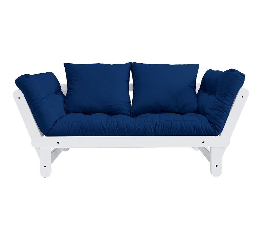Sofa extensibila Beat White and Royal