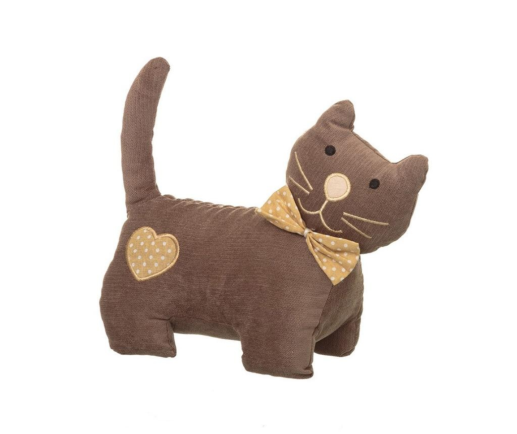 Opritor de usa Bowtie Cat Brown