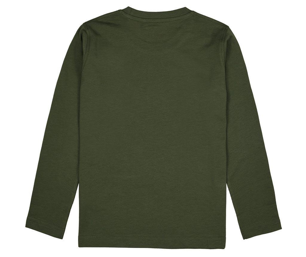 Otroška majica z dolgimi rokavi Tobias Green 15-16 let