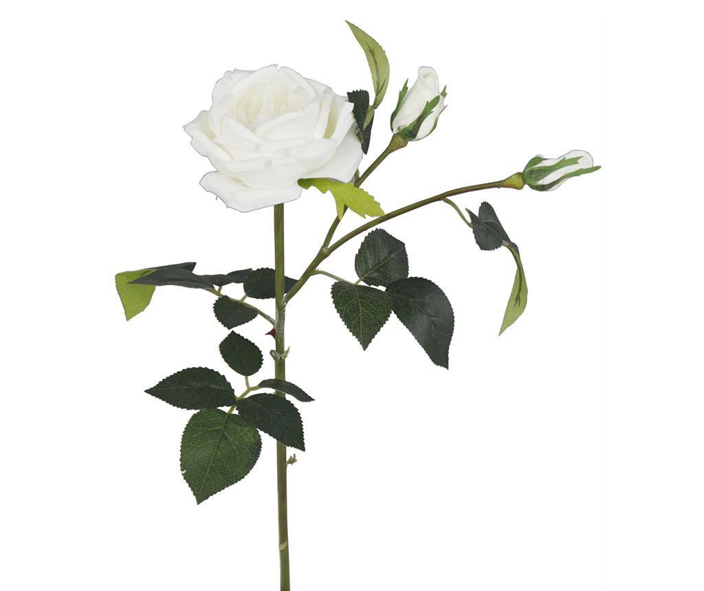 Floare artificiala Cream Cabbage Rose