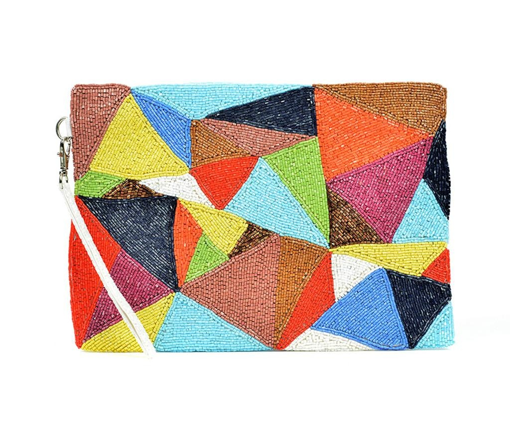 Geanta plic Abstract Triangles