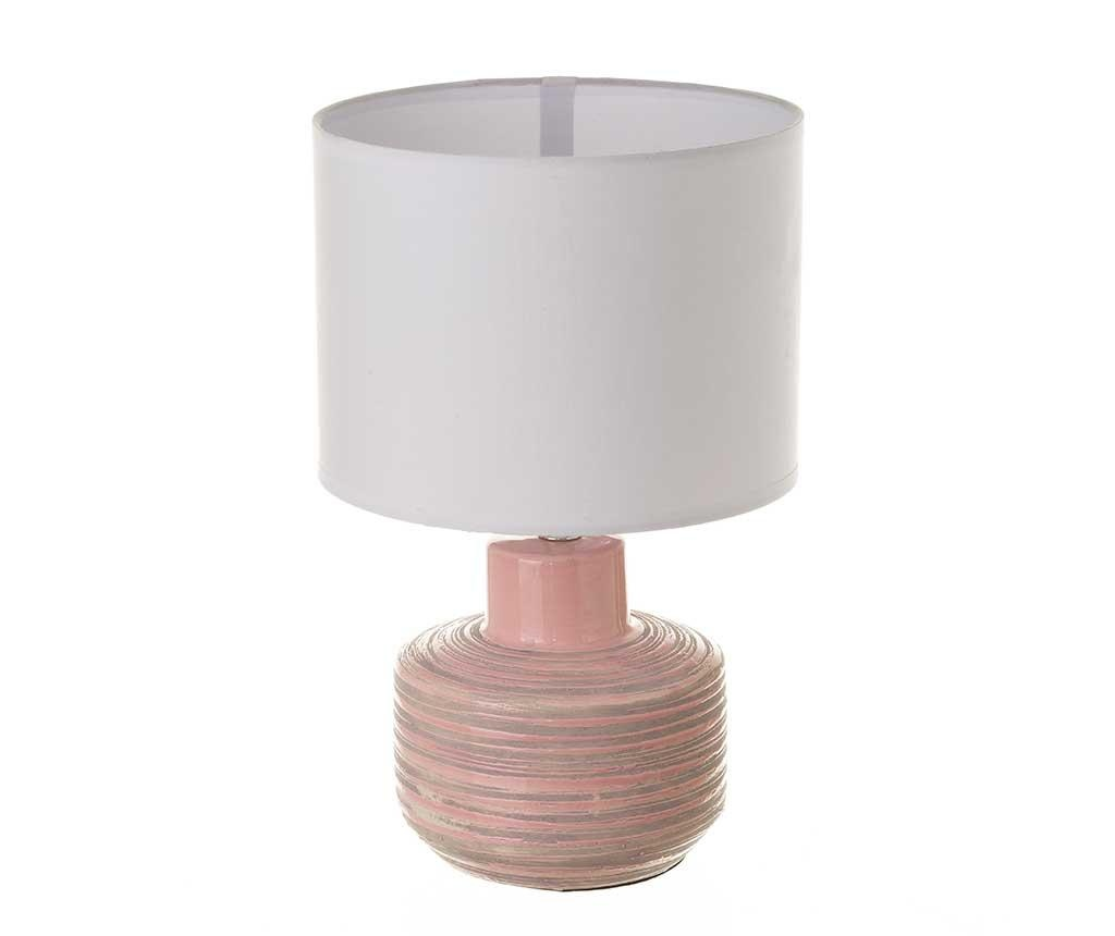 Nočná lampa Liquid Stripes Wide Pink