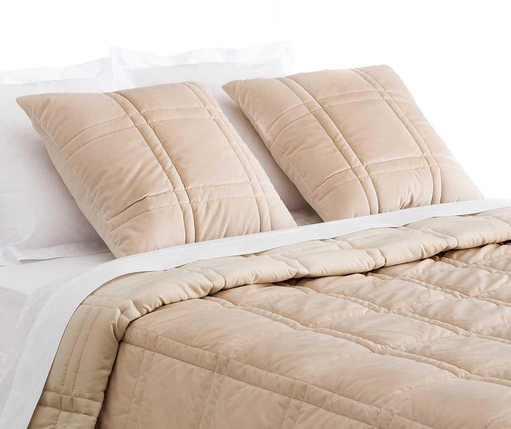 Sound Beige Steppelt ágytakaró 235x260 cm