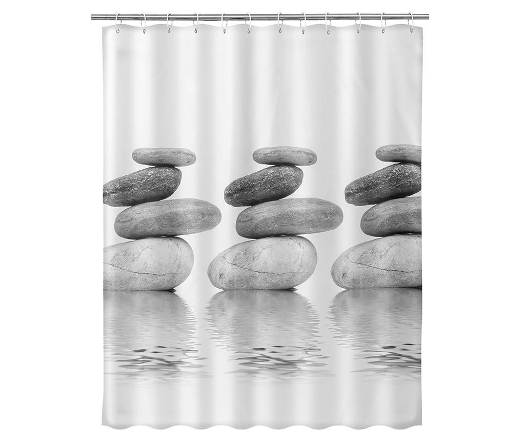 Zavesa za prho Finn 180x200 cm