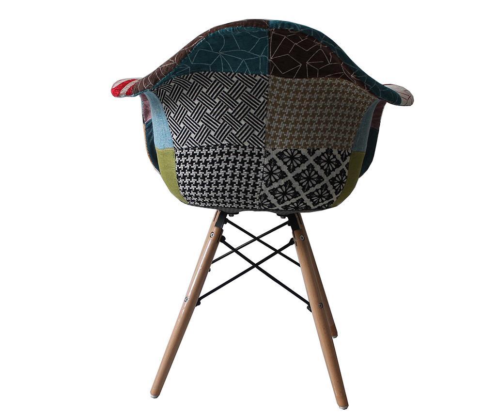 Set 2 stolice Patchwork Design