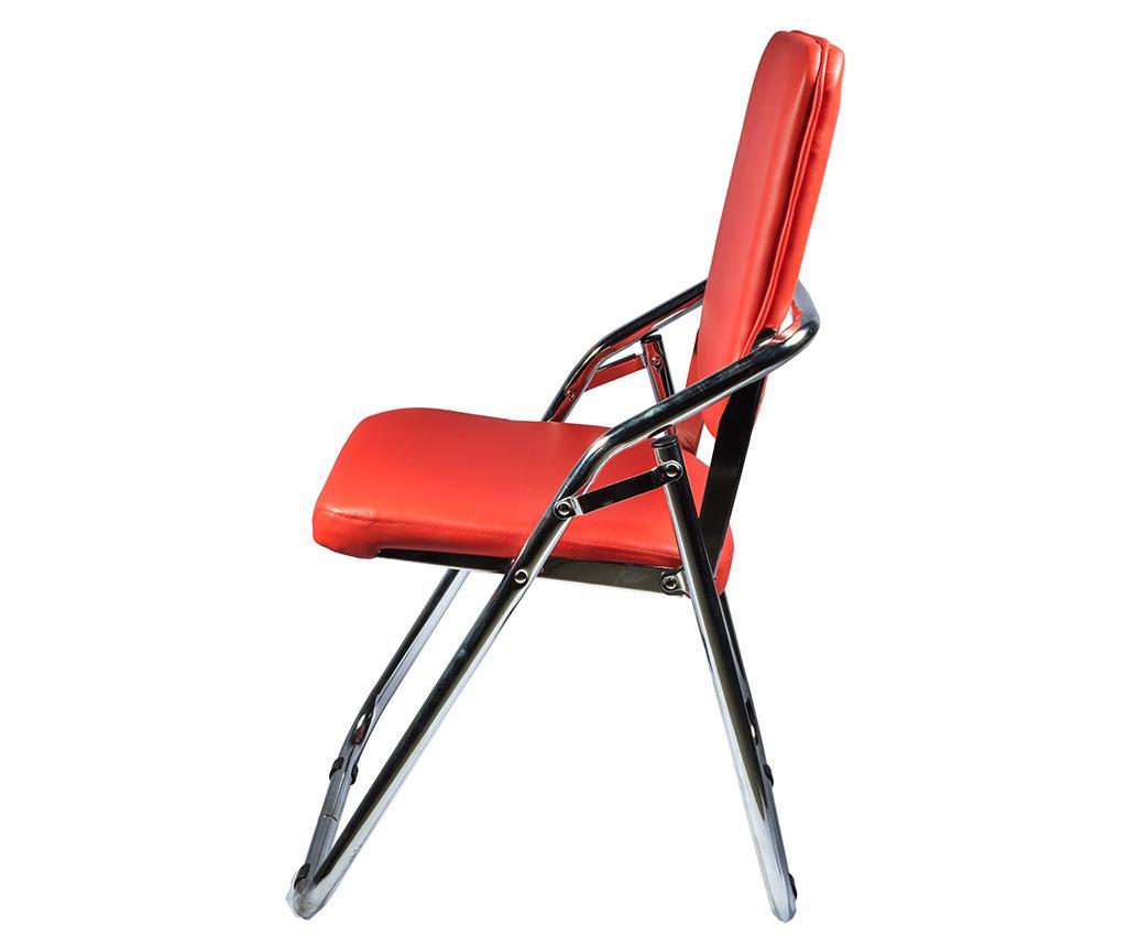 Scaun pliabil Almeria Red