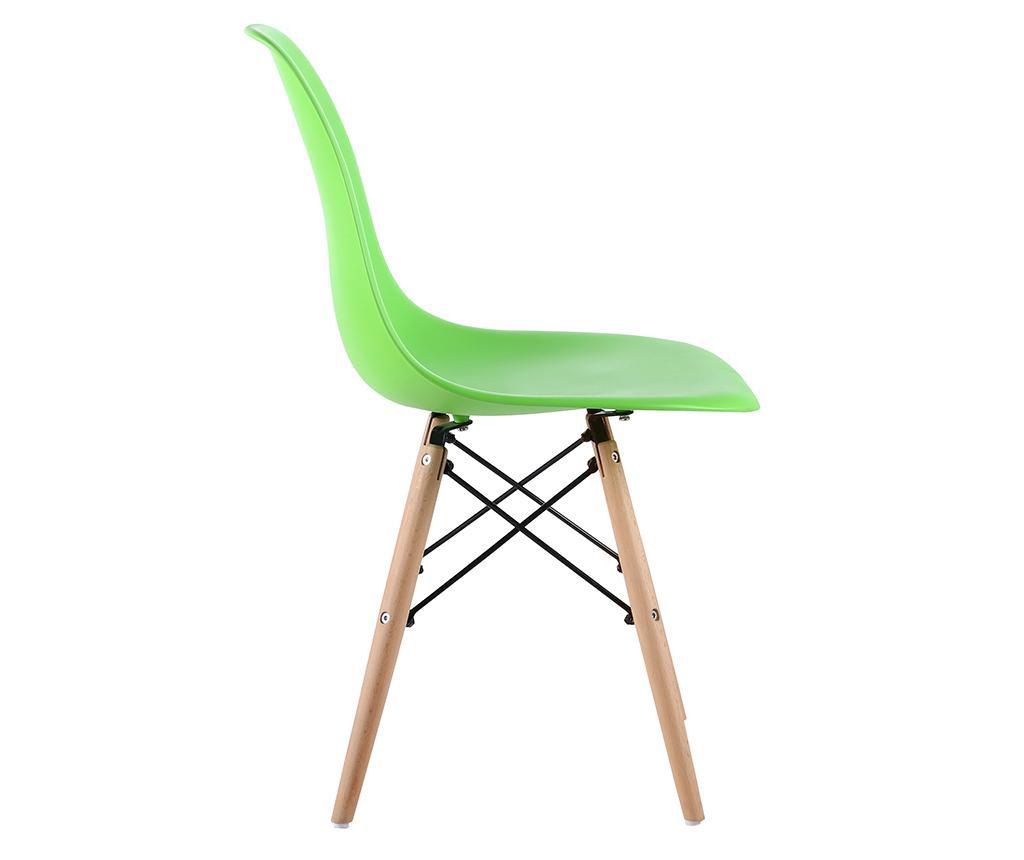 Set 4 scaune Lunaria Light Green