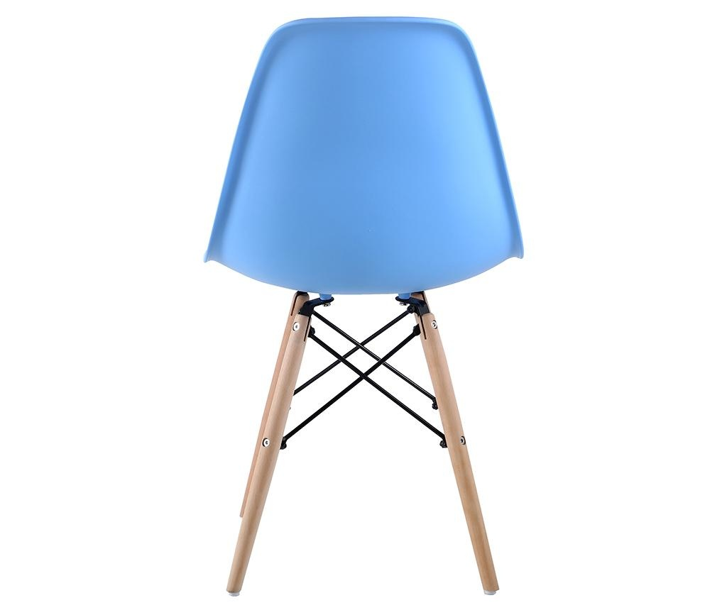 Set 4 scaune Lunaria Light Blue