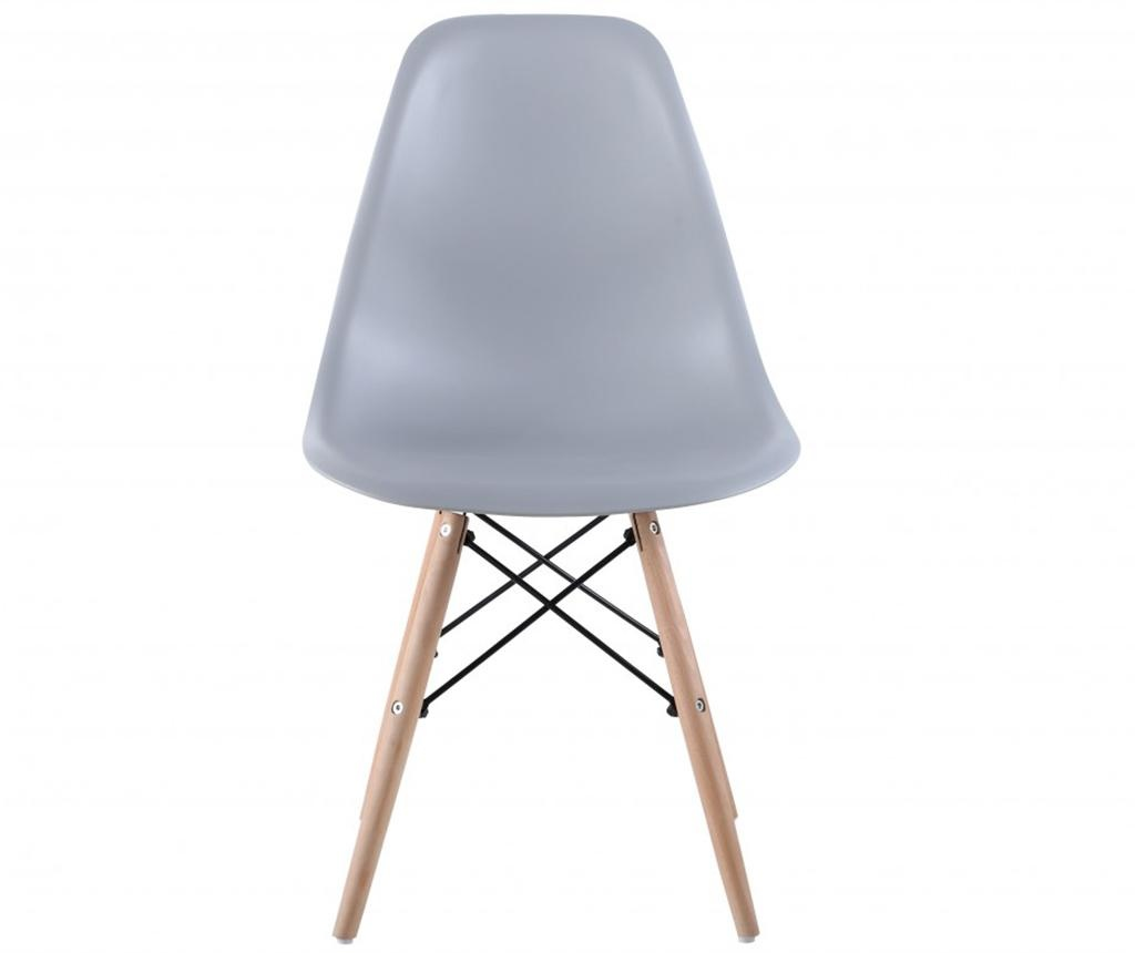 Set 4 scaune Lunaria Light Grey