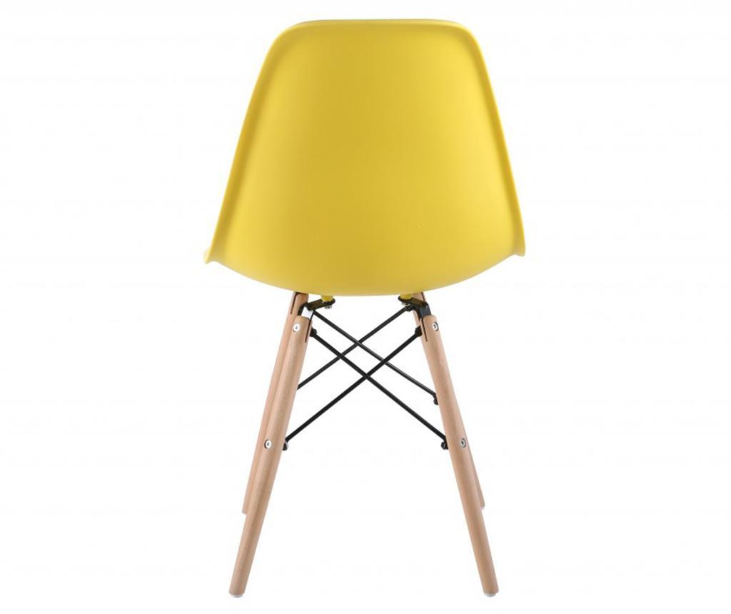 Set 4 scaune Lunaria Yellow