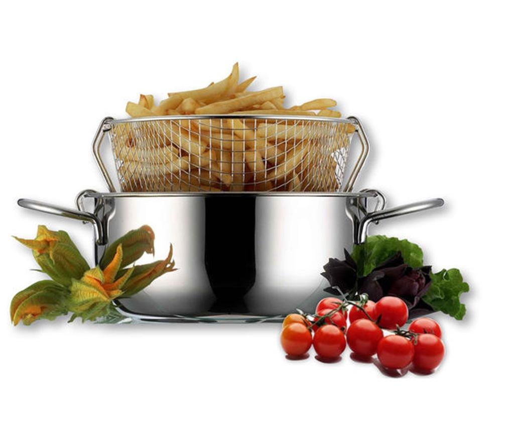 Set friteuza 4 piese Eatitaly 7 L