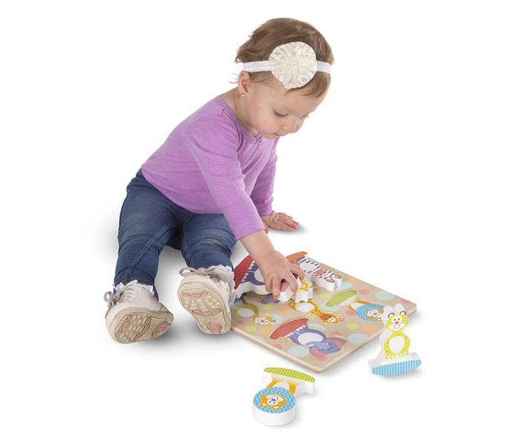 Joc tip puzzle 6 piese Safari Balance